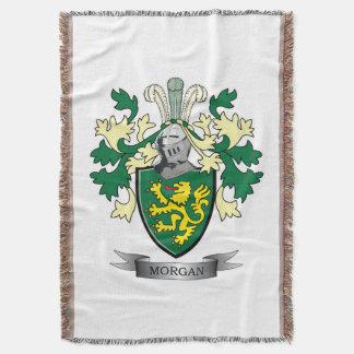 Manta Escudo de armas del escudo de la familia de Morgan
