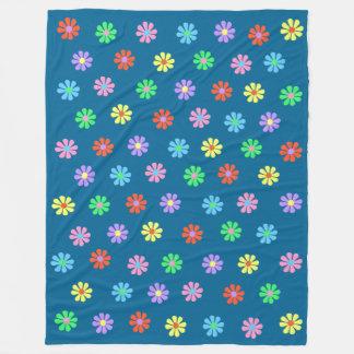 manta grande del paño grueso y suave del flower