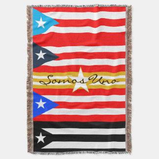 Manta La Bandera de Puerto Rico de la estafa de Arropate