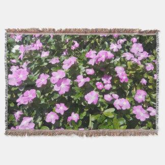 Manta linda del tiro de las flores del bígaro