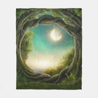Manta mágica del paño grueso y suave del árbol de
