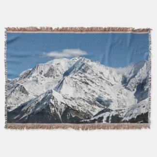 Manta Mt. Blanc con las nubes