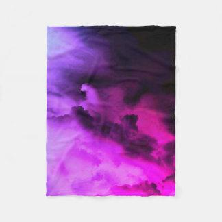 manta nublada del paño grueso y suave