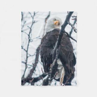 Manta obvia de Eagle de la felpa de la curiosidad