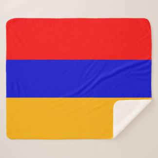 Manta patriótica de Sherpa con la bandera de