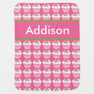 Manta personalizada de la magdalena de Addison