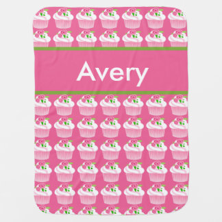 Manta personalizada de la magdalena de Avery