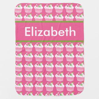 Manta personalizada de la magdalena de Elizabeth