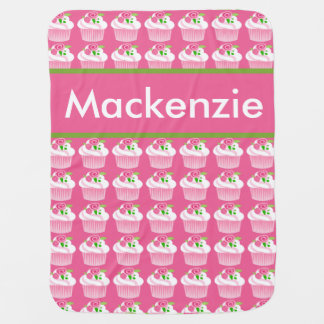 Manta personalizada de la magdalena de Mackenzie