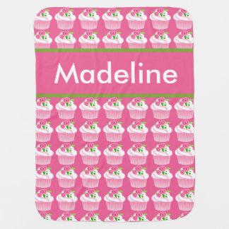 Manta personalizada de la magdalena de Madeline