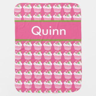 Manta personalizada de la magdalena de Quinn