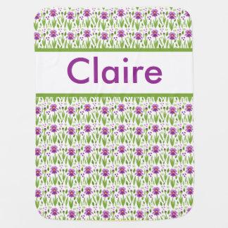 Manta personalizada del iris de Claire