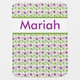 Manta personalizada del iris de Mariah