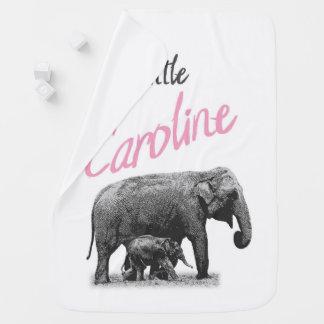 """Manta personalizada """"pequeña Caroline """" de la niña"""