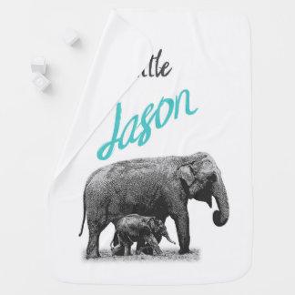 """Manta personalizada """"pequeño Jason """" del bebé"""