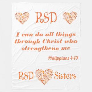 Manta Polar 4:13 de los filipenses del verso de la biblia de