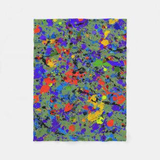 Manta Polar #912 abstracto