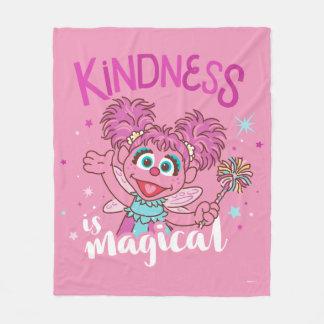 Manta Polar Abby Cadabby - la amabilidad es mágica