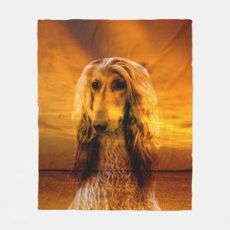 Manta Polar Afgano del perro