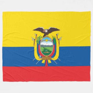 Manta Polar Bandera de Ecuador