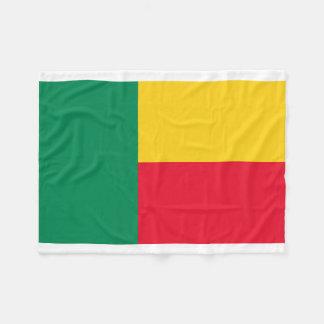 Manta Polar Bandera nacional del mundo de Benin
