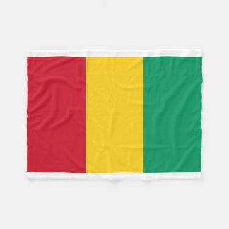 Manta Polar Bandera nacional del mundo de Guinea