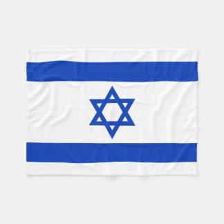 Manta Polar Bandera nacional del mundo de Israel