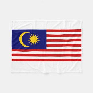 Manta Polar Bandera nacional del mundo de Malasia