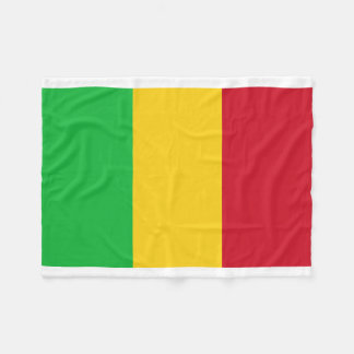 Manta Polar Bandera nacional del mundo de Malí