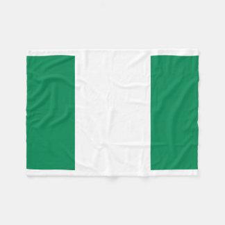 Manta Polar Bandera nacional del mundo de Nigeria