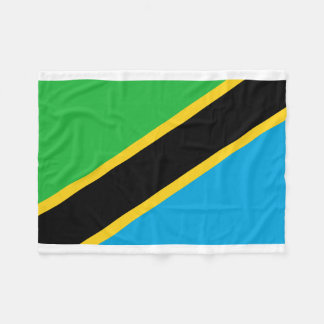 Manta Polar Bandera nacional del mundo de Tanzania