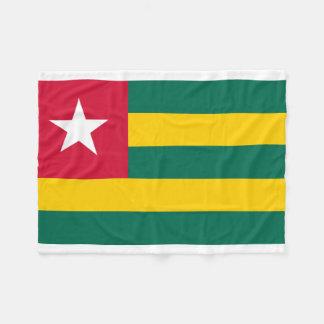 Manta Polar Bandera nacional del mundo de Togo