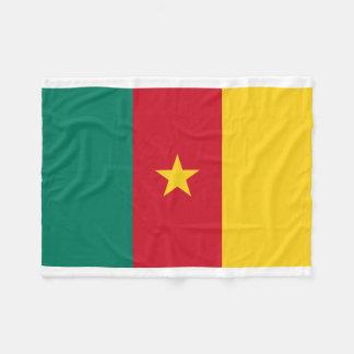 Manta Polar Bandera nacional del mundo del Camerún