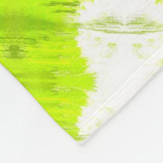 Manta Polar Blanco y extracto verde del kiwi