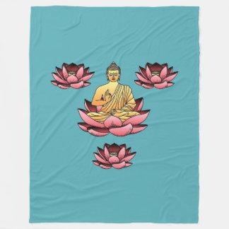 Manta Polar Buda y Lotus