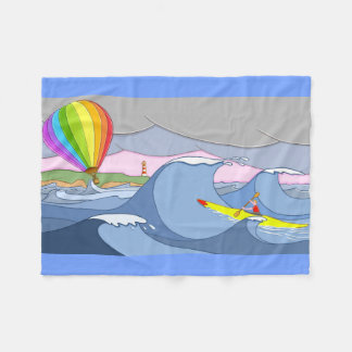 Manta Polar Capitán Kayak y el globo