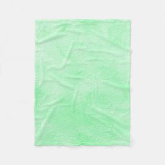 Manta Polar Cielo nublado precioso del batik de la verde menta