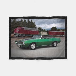 Manta Polar Coche clásico convertible 1969 de Chevy Camaro