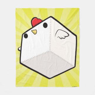 Manta Polar Cubo lindo combinado del pollo de Cockblock