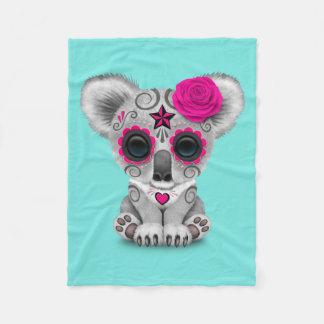 Manta Polar Día rosado de la koala muerta del bebé