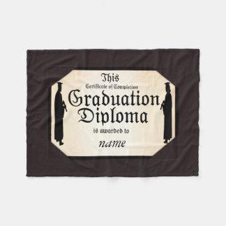Manta Polar Diploma alto derecho graduado