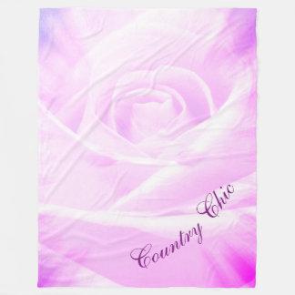 Manta Polar Diseño elegante del país púrpura bonito