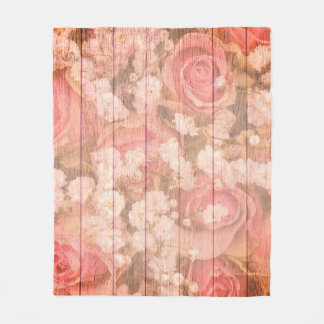 Manta Polar Diseño elegante del país rosado