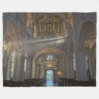Manta Polar Edificio arquitectónico interior de la iglesia