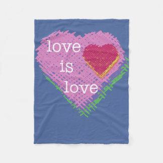 Manta Polar El amor es amor