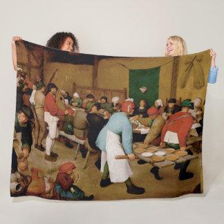 Manta Polar El boda campesino de Pieter Bruegel la anciano