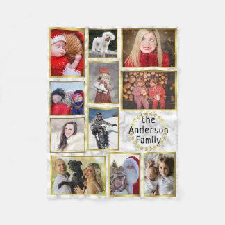 Manta Polar El collage de la foto de familia 11 imágenes vetea