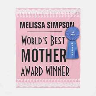 Manta Polar El mejor premio de la madre del mundo