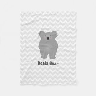 Manta Polar El oso de koala lindo del bebé de Australia añade