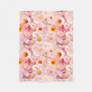 Manta Polar El rosa florece la primavera nupcial del boda